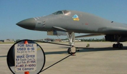 Police Car For Sale >> Used B-1B Bomber For Sale